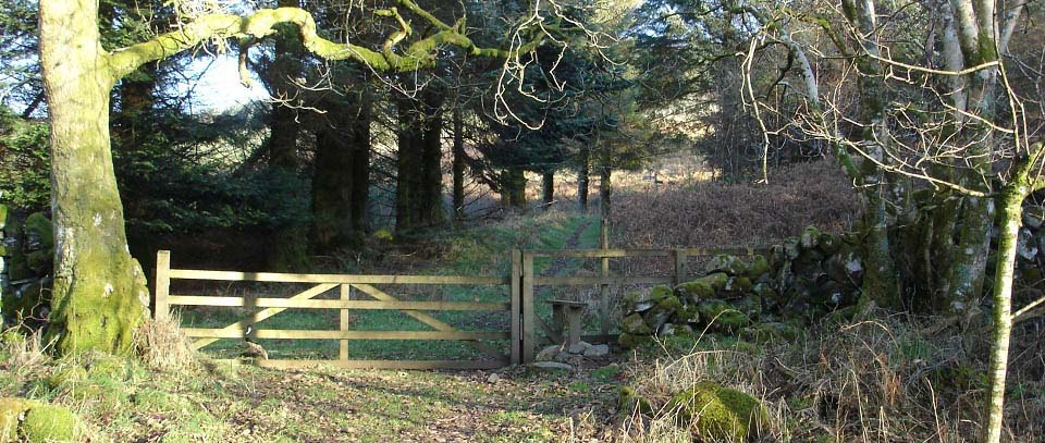Cairnsmore of Fleet hiking gate image