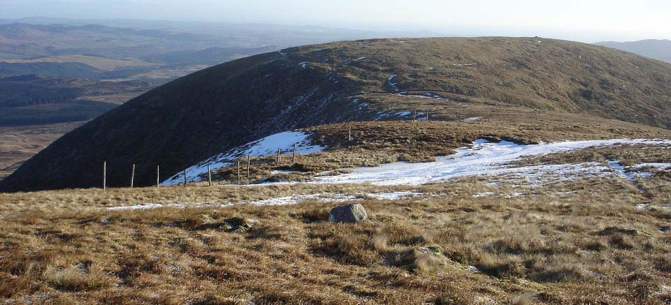 Knee of Cairnsmore north side image