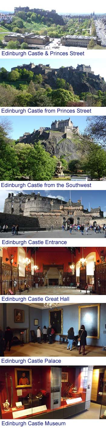 Edinburgh Castle Images