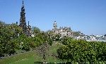 Scott Monument in Princes Street Gardens Edinburgh image