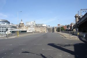 King George V Bridge Glasgow image