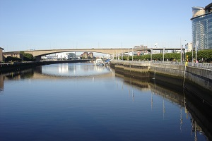 Kingston Bridge Glasgow image