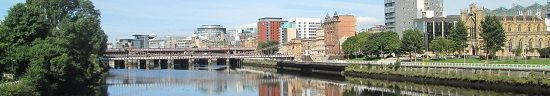 Glasgow River Walk skyline image