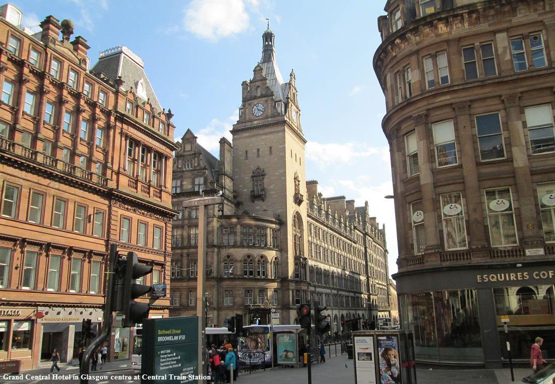 Glasgow Hotels Central Station
