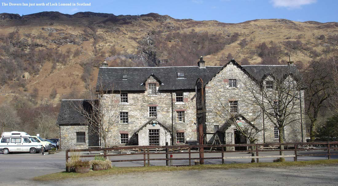 The Drovers Inn >> All the Top Argyll Country Hotels Scotland