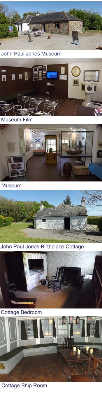 John Paul Jones Cottage Museum Images