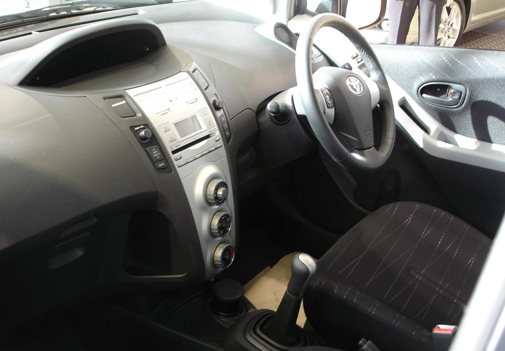 Toyota Yaris Interior New and Updated Pictures Front View · Interior View