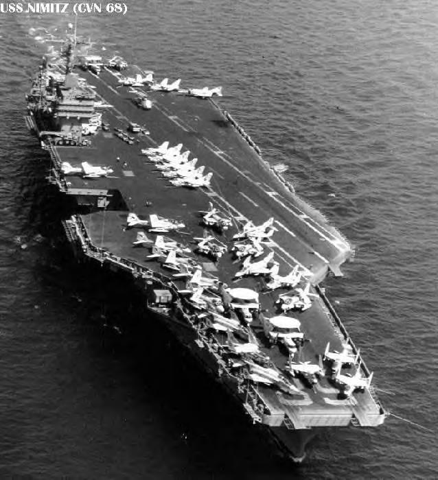 Nimitz from air