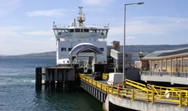 Wemyss Bay Ferry loading image